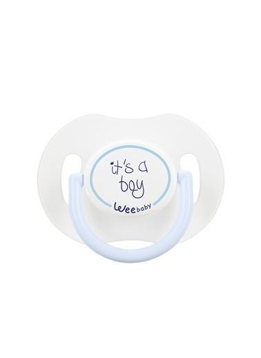 Wee Baby 781 Saplı Kapaklı Emzik Damaklı 0-6 Ay -Wee